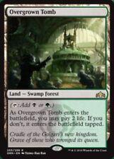 Overgrown Tomb * FOIL * Guilds of Ravnica * Mint * MtG * Rare