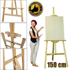 Art Artist Wooden Easels Sketch Drawing Painting Sketching Stand Pine Quality UK