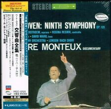 Beethoven Complete Symphonies Pierre Monteux Japan 6CD Box Set NEW Tower Records