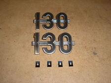 IH /  FARMALL / 130 /  NEW /  #130  SIDE EMBLEMS / FOR TRACTORS / #BM17-4-32