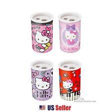 Sanrio Hello Kitty Portable Mini 2-Hole Pencil Sharpener : 1 Design (Random)