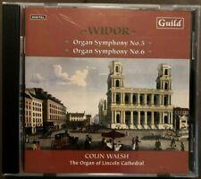 CD Orgel Organ Widor Symphonie 5 Toccata & 6 Willis 1898 IV/62 Lincoln Cathedral