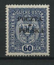 Polen 1919 Fischer Nr 42 * MH krakauer Ausgabe geprüft Jungjohann BPP