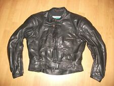 LOOKWELL LEATHER MOTORCYCLE MOTORBIKE JACKET SIZE UK 40