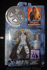 X-MEN The Movie TYLER MANE as SABRETOOTH w/ Arctic Attack Toy Biz 2000 Marvel