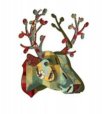 Miho Deer Head - Foliage - Unique Wall Hanging - New Home Gift - Gift for women