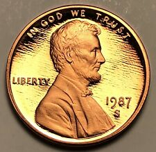 1987-S Lincoln Memorial Cent Gem Proof Penny (L147)