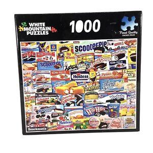 Jigsaw Puzzle 🧩 Treats Hostess Snackmania 999/1000 Piece Twinkies Fruit Pies