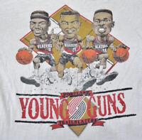 Portland Trailblazers Young  White Men S-234XL T-shirt  AC317