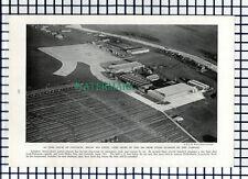 (8056) Schiphol Amsterdam Airport  - 1940 Book Print