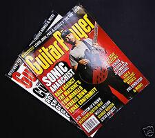 """Guitar Player"" Magazine - Jahrgang 2000, 2 Hefte - April, July..."