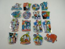 CAT IN THE HAT / DR. SEUSS STICKERS OFFICIAL MOVIE A&A GLOBAL 1-16 COMPLETE SET