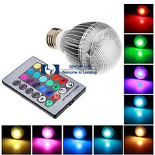New 3W E27 RGB LED 16 Colors Changing Magic Light Lamp Bulb With Remote Control