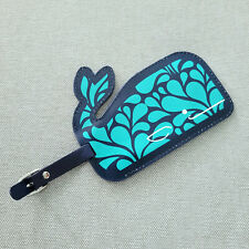 Jonathan Adler Whale Luggage Tag Lost Bag Address Vacation Travel Cruise Beach