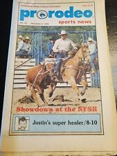 Pro Rodeo Sports News 1988 Lane Frost Cody Custer