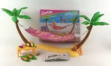 Barbie Hawaiian Fun Hammock Hideaway Vintage 1990 Monkey Coconut Palm Mattel