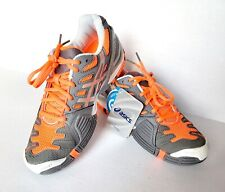 Asics Gel Resolution 4 Women size 5 Titanium/Silver Electric/Melon Tennis Shoes