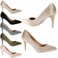 Stiletto Synthetic Upper Material Court Shoes for Women