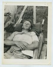 Wounded US Soldier From Myitkyina Burma - WW2 c1944 - US Signal Corps Photo #13
