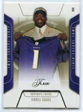 2003 Flair 92 Terrell Suggs Rookie 467/500
