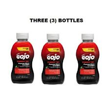 (3) THREE Gojo® Cherry Liquid Gel Pumice Hand Cleaners 10 oz squeeze bottles NEW
