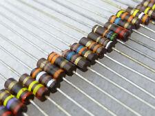 5 résistance carbone 27K 1/4W 5% carbon comp resistor