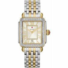 Michele Deco Madison Two Tone Gold Diamond Dial MWW06T000144 Ladies Watch