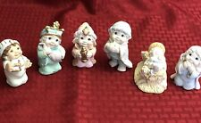 Vintage-1995 Dreamsicles Nativity Set- In Perfect Condition- In Original Boxes