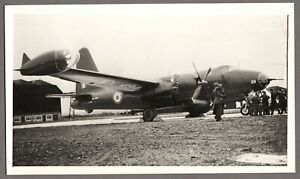 LOCKHEED NEPTUNE P2V WX494 RAF ST EVAL VINTAGE PHOTO