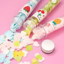 Portable Mini Flower Paper Soap Slice Body Hands Washing Bath travel Dish Color
