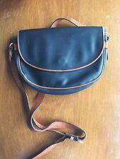 BOTTEGA VENETA Black Brown MARCO POLO Shoulder Crossbody Bag Made in Italy