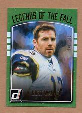 2016 Donruss Kurt Warner Legends Of The Fall Holo 048/100 St. Louis Rams