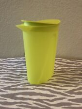 Tupperware Small Impressions Pitcher 1 Liter 4 Cups Green New