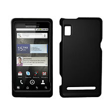 for Motorola Droid 2 A955 Case Cover Black+Car Charger