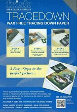 Frisk Tracedown Paper - A4 - Graphite Grey - Pack of 5 sheets