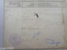 original Militärpaß Freikorps  1919 Leibgarde Infanterie Regiment 115