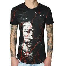 "Eksi-caballeros t-shirt 2331"" Disturbed ""black (negro)"