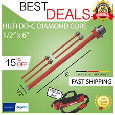 Hilti Diamond Core Bit Dd C 12 X 6 T4 5 Pack Brand New Fast Shipping
