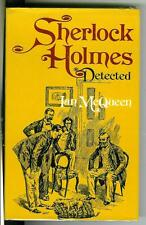 SHERLOCK HOLMES DETECTED by Ian McQueen, rare US Drake Holmes hardcover in DJ
