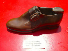 Small Chalkware Replica of a Men's Florsheim Buckled Dress Shoe Cast as Ashtray.