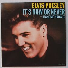 ELVIS PRESLEY: It's Now or Never CANADA 45 & PS NM- / NM- rare