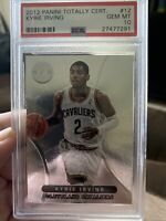2012 panini totally certified Rookie kyrie irving #12 psa 10 Pop 14!