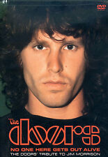 """DVD NEUF """"THE DOORS - NO ONE HERE GETS OUT ALIVE"""" The D. tribute to Jim Morrison"""