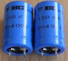 2x Elko 150µf 400 V SnapIn, BC-Components-VISHAY