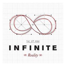 INFINITE [REALITY] 5th Mini Album CD+Booklet+Photocard K-POP SEALED