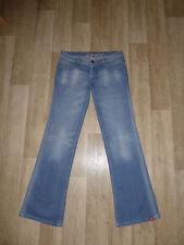 Esprit L32 Damen-Bootcut-Jeans niedriger Bundhöhe (en)