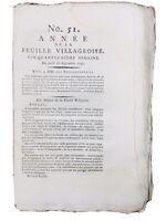 Étampes en 1791 Essonne Corse Gênes Italie Marseille Révolution Française