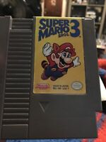 Super Mario Bros 3 (Nintendo Entertainment System, 1990) NES Cart Only Authentic