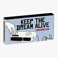 Keep The Dream Alive Clock Radio Gum Blue Q Funny Gift Novelty Cinnamon Flavor
