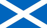 Flag SCOTLAND High Quality Metal Magnet 2.5 x 4 Fridge 9960